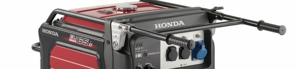 Aggregaat 6.5 KVA Brandstof 16.5 Liter Honda EU65iS Inverter